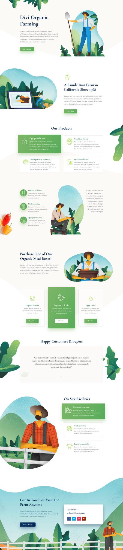 Farmer Landing Page