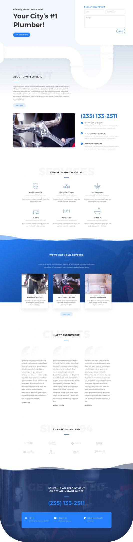 Plumber Landing Page