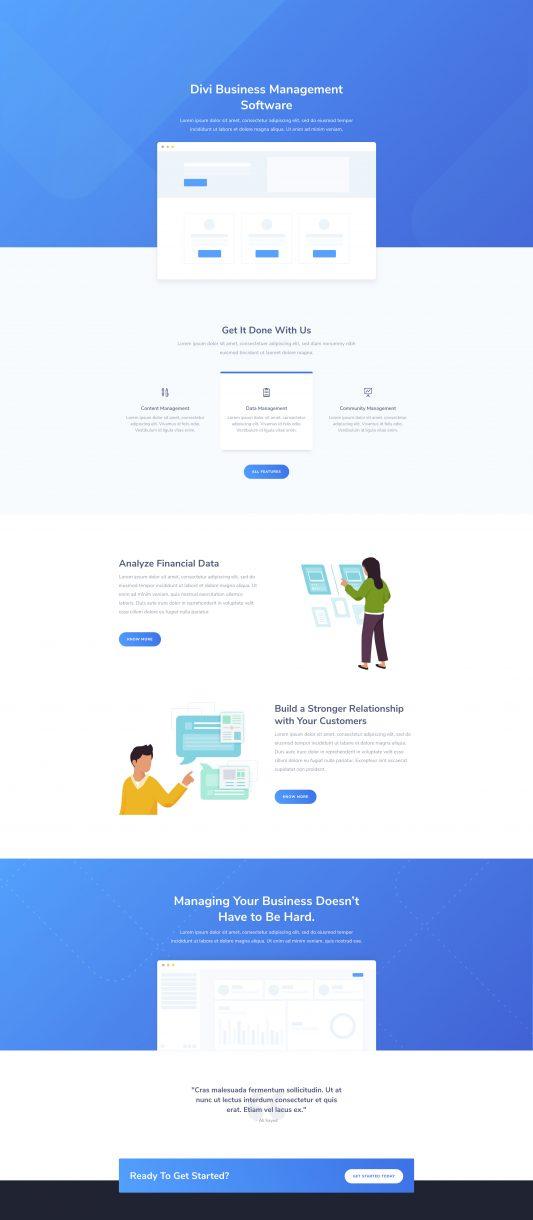 SaaS Landing Page