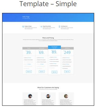 Simple Mobile Responsive Website Template Pack