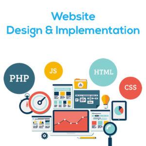 Webstie Design & Implementation