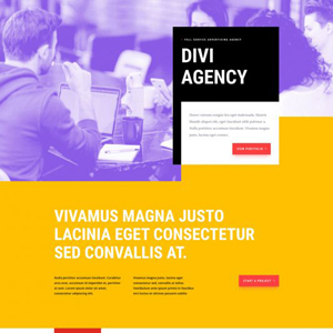 Ad Agency Website Template