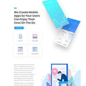 App Developer Website Template