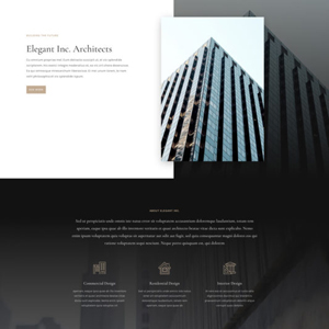 Architecture Firm Website Template