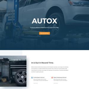 Auto Repair Website Template