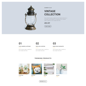 Boutique Website Template