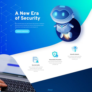 Cyber Security Website Template