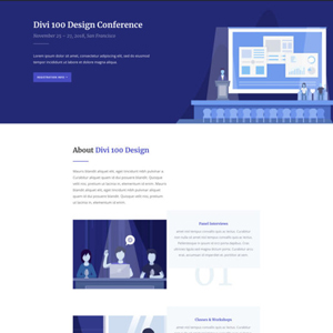 Design Conference Website Template
