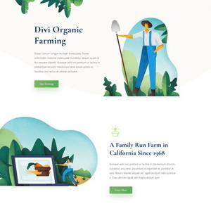 Farmer Website Template