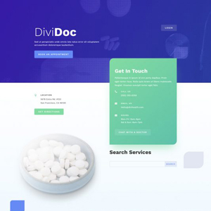 Health Clinic Website Template
