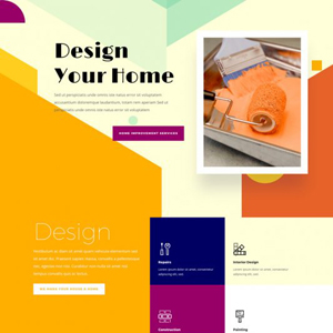 Home Improvement Website Template