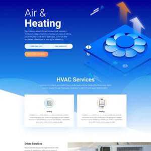 HVAC Website Template