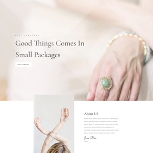Jeweler Website Template