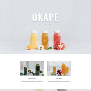 Juice Shop Website Template