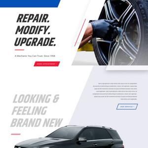Mechanic Website Template