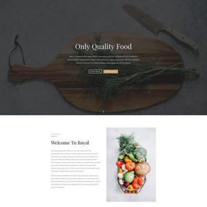 Restuarant Website Template