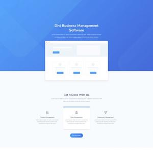 SaaS Company Website Template