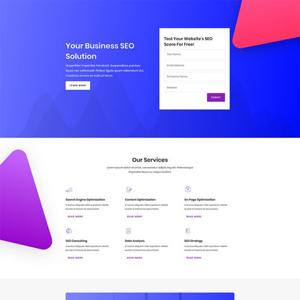 SEO Agency Website Template