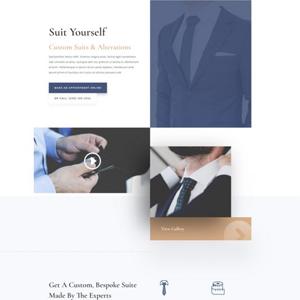 Suit Tailor Website Template