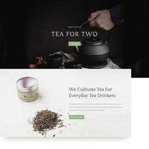Tea Shop Website Template