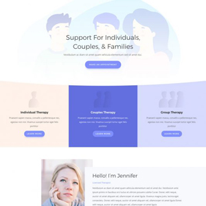 Therapist Website Template