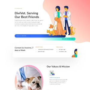 Veterinarian Website Template