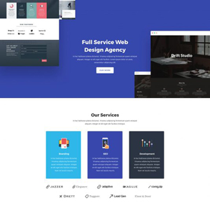 Web Agency Website Template