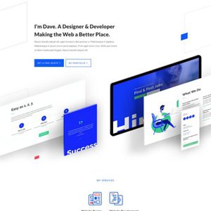 Web Freelancer Website Template